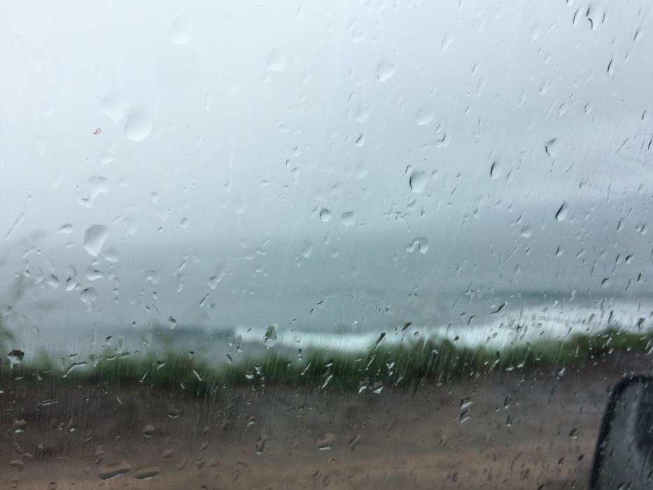 Surf Highway How Could Be Surfing Under The Rain Nature